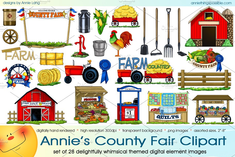 High resolution health fair booth clipart png image transparent download Annie\'s County Fair Clipart image transparent download