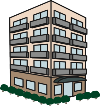 High rise clipart banner library download High Rise Drawing | Free download best High Rise Drawing on ... banner library download