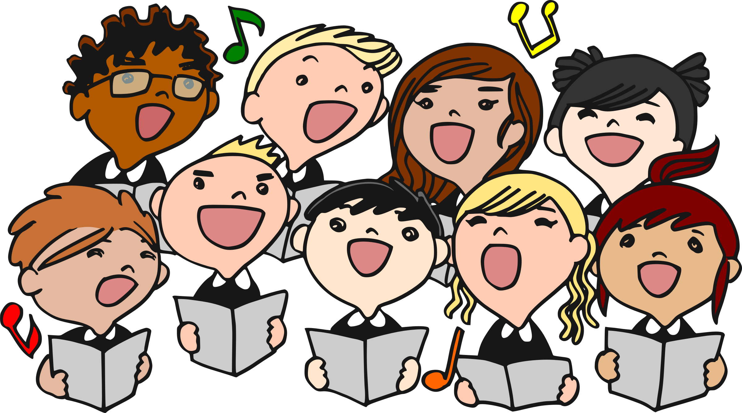 High school choir clipart picture transparent Select Ensemble of the Sycamore High School Choral Program - College ... picture transparent