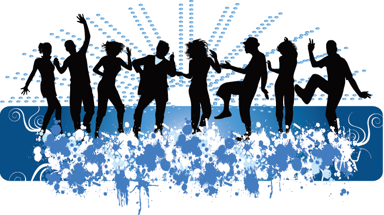 Middle school dance clipart banner black and white download 28+ Collection of Middle School Dance Clipart | High quality, free ... banner black and white download