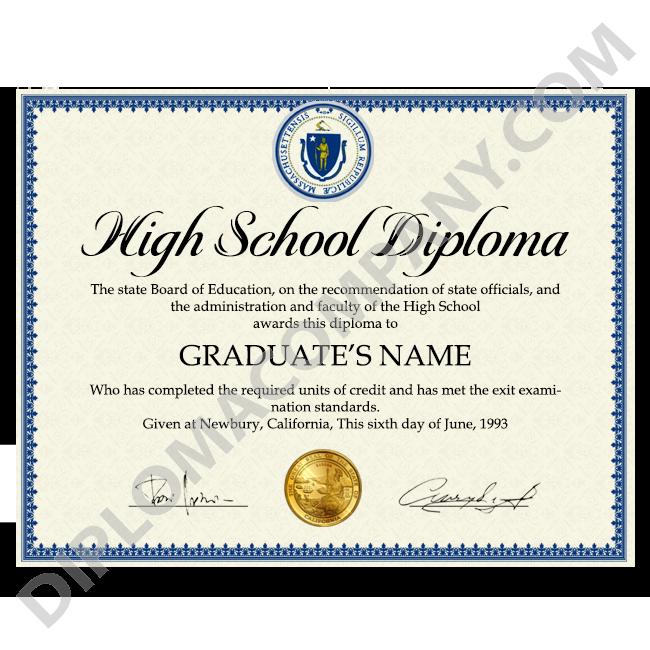 High school diploma clipart image stock Fake USA High School Diploma | DiplomaCompany.com image stock