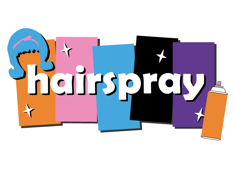 High school seniors clipart banner black and white stock High School Musical: Hairspray | MOT Charter banner black and white stock