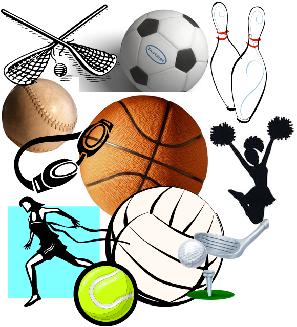 High school sports clipart image free stock Event Highlights | Welcome to St John Villa Academy image free stock