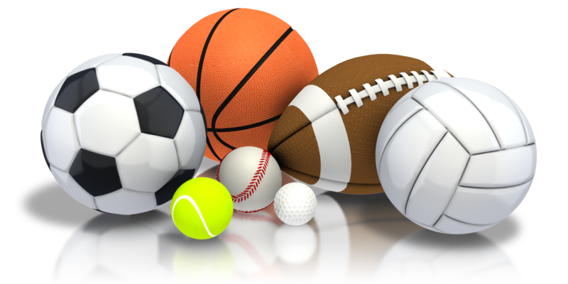 High school sports clipart