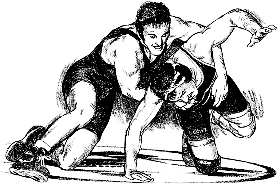 High school wrestler clipart image royalty free High School Wrestling - Postville Community School District image royalty free