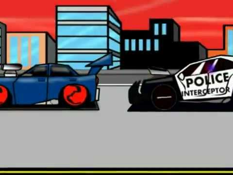 High speed car chase clipart transparent download SUPER POLICE CAR ( HIGH-SPEED) CHASE (cartoon Action animation ... transparent download