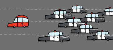 High speed car chase clipart picture transparent download Car chase clipart - ClipartFest picture transparent download