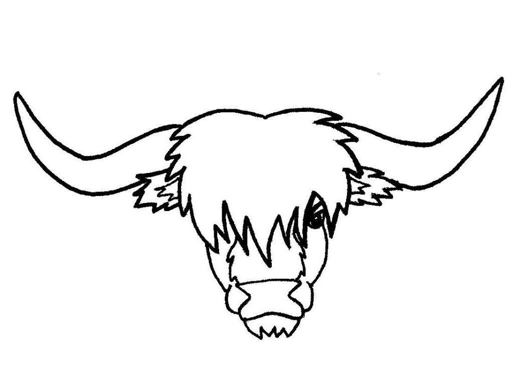 Highland cattle clipart image royalty free download Highland cow clipart 1 » Clipart Station image royalty free download