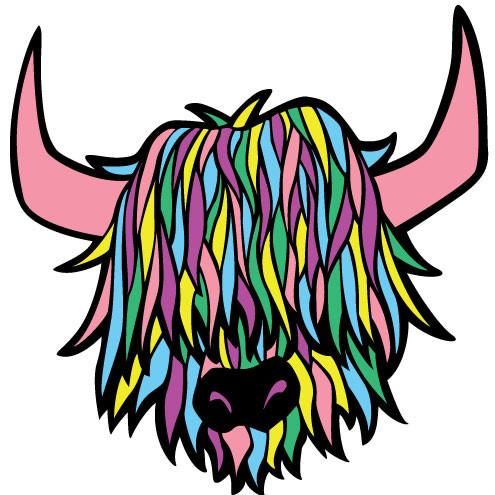 Highland cattle clipart svg Highland Cow Drawing | Free download best Highland Cow ... svg