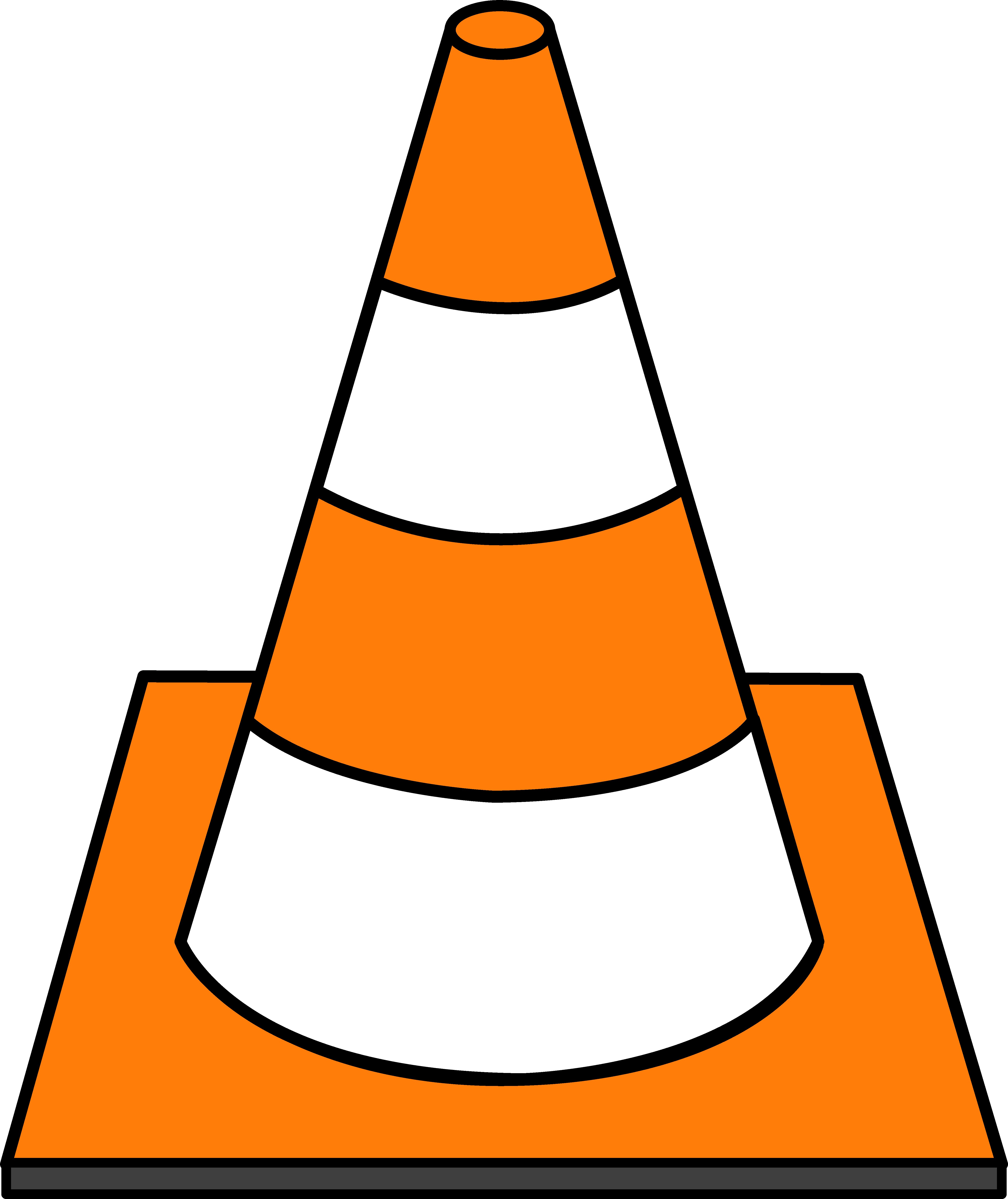 Highway car clipart clip freeuse download Striped Road Cone | Under construction | Pinterest | Construction ... clip freeuse download