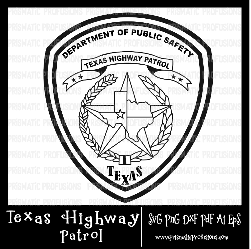 Highway patrol clipart svg free download Texas Highway Patrol SVG, Texas Highway Patrol Clipart svg free download