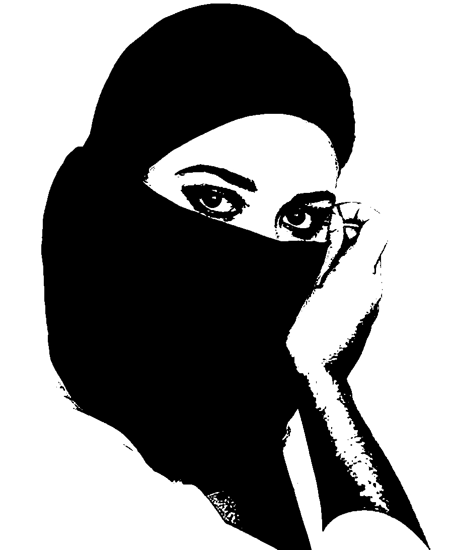 Hijab clipart picture black and white library Free Hijab Cliparts, Download Free Clip Art, Free Clip Art ... picture black and white library