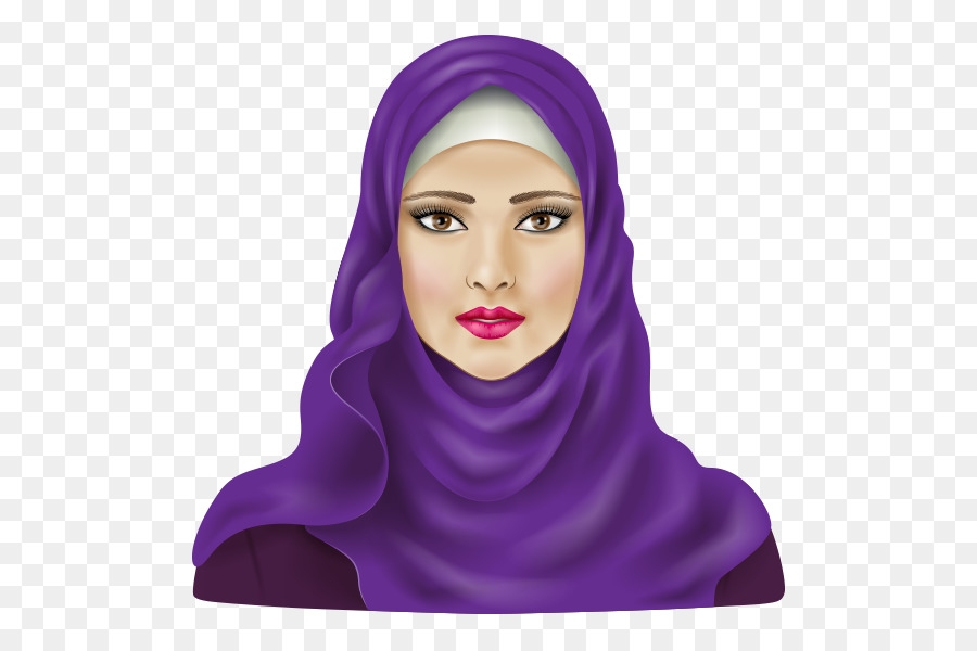 Hijab clipart png freeuse library Woman Face clipart - Hijab, Islam, Muslim, transparent clip art png freeuse library