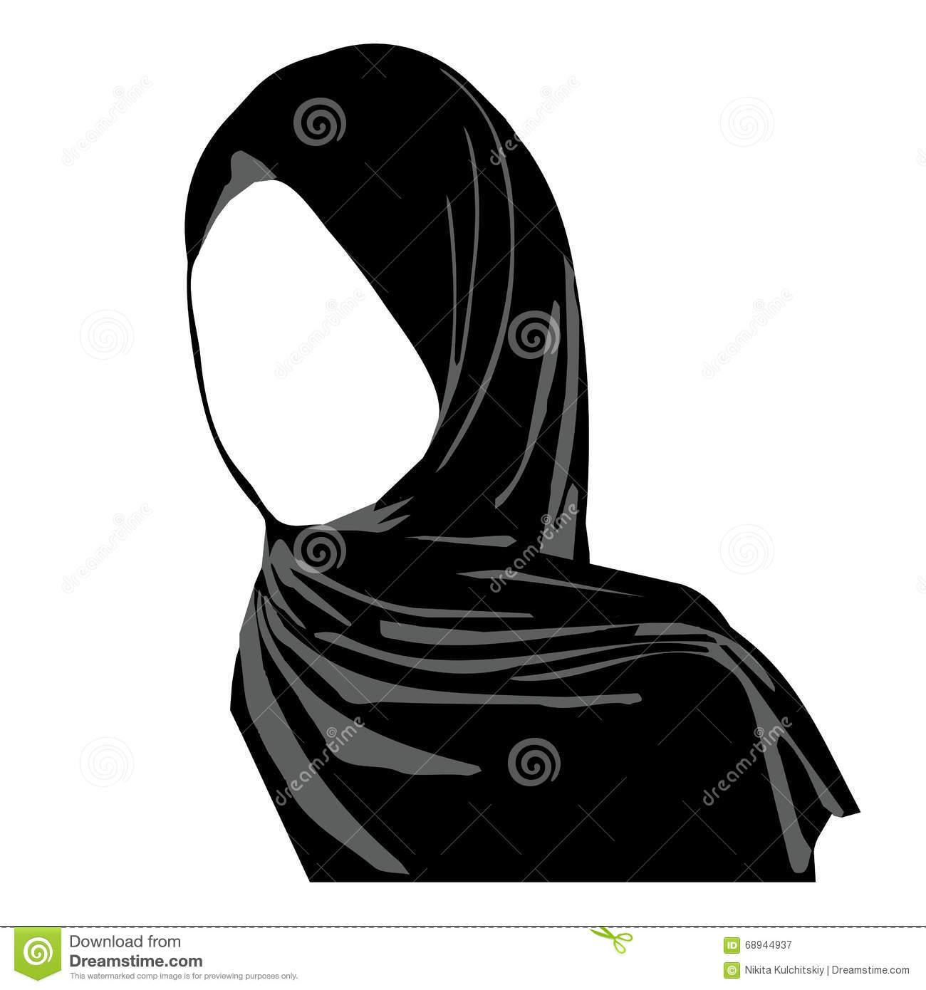 Hijab clipart image jpg freeuse stock Hijab clipart 5 » Clipart Station jpg freeuse stock
