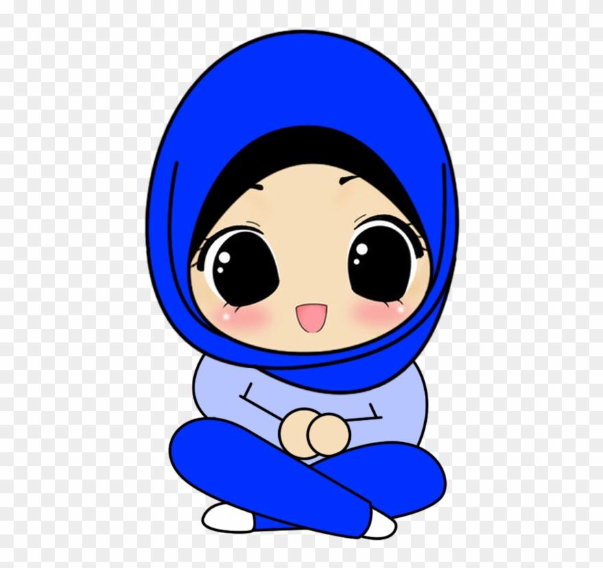 Hijab clipart clip freeuse download Hijab Girl Cartoon Png Clipart (#2511033) - PinClipart clip freeuse download
