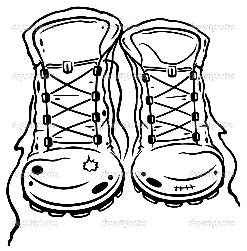 Hiking boot icon black and white clipart jpg royalty free download Hiking Clipart Black And White   Free download best Hiking ... jpg royalty free download