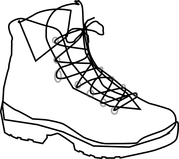 Hiking boot icon black and white clipart picture library Free Hiking Boot Cliparts, Download Free Clip Art, Free Clip ... picture library