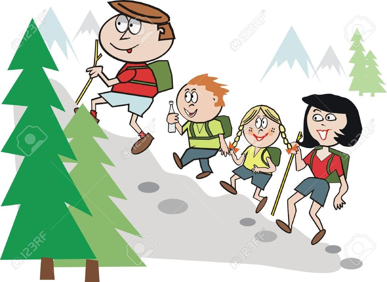 Hiking images clipart stock HD Hiking In Snow Clip Art Library » Free Vector Art, Images ... stock