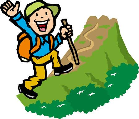 Hiking trail clipart svg stock Hike Clipart 88 Images In Collection Page 2 Natural Hiking ... svg stock