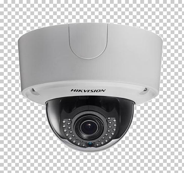 Hikvision clipart black and white IP camera Hikvision DS-2CD2142FWD-I Hikvision 4k Smart Ir ... black and white