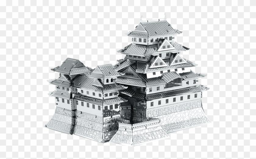 Himeji castle clipart jpg black and white library Picture Of Himeji Castle - Himeji Castle, HD Png Download ... jpg black and white library