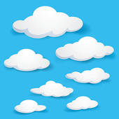 Himmel clipart banner freeuse library Clouds Clip Art - Royalty Free - GoGraph banner freeuse library
