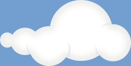 Himmel clipart png black and white Weichen Wolken Himmel ClipArt cliparts, kostenlose clipart ... png black and white