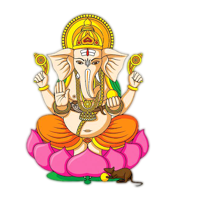 Hindu god clipart black and white download Transparent Clipart Image Hindu God Ganesha clipart Five ... black and white download