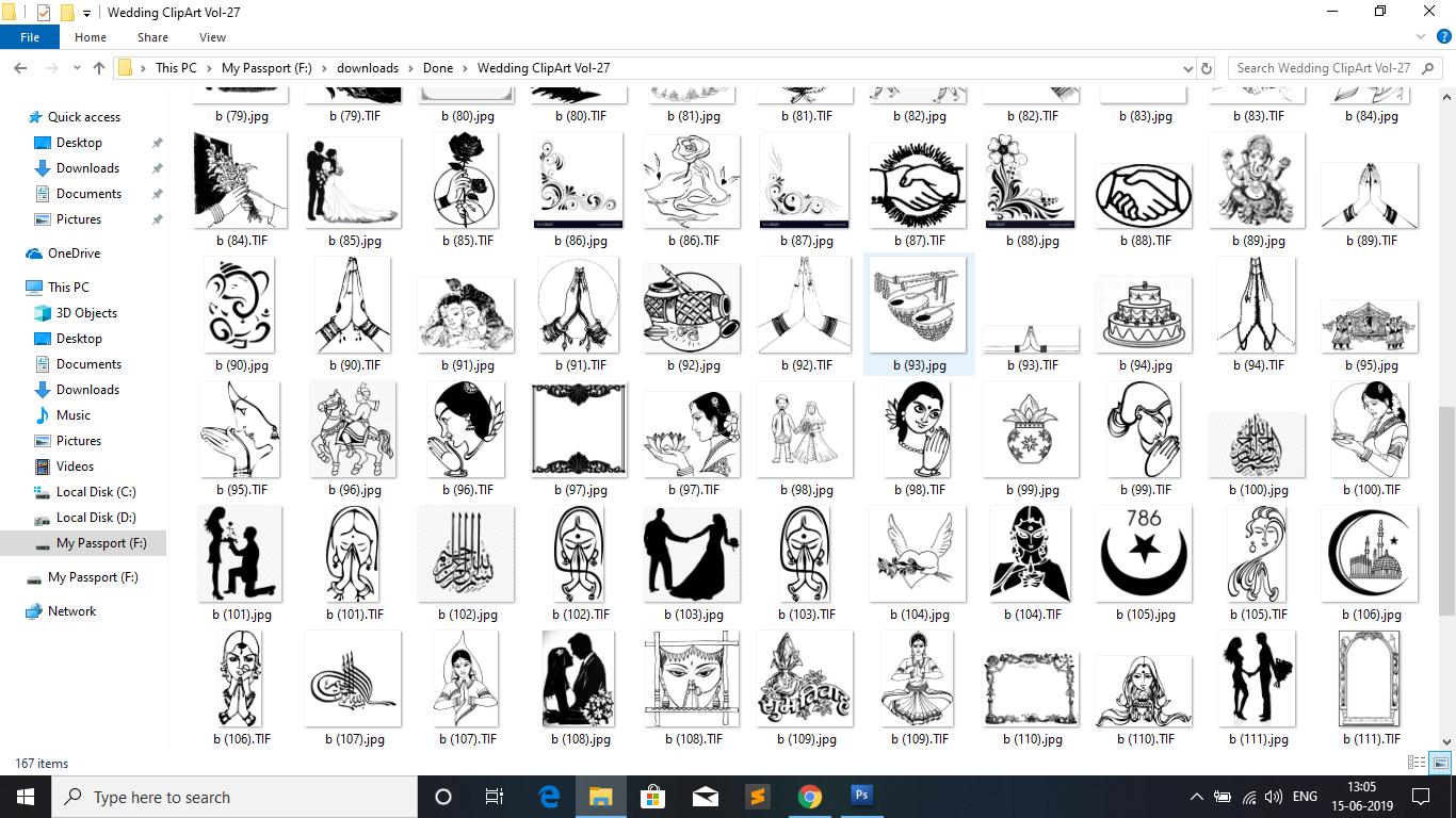 Hindu wedding clipart fonts free download jpg black and white download Download Free Indian Wedding Clip-art Vol-27 jpg black and white download