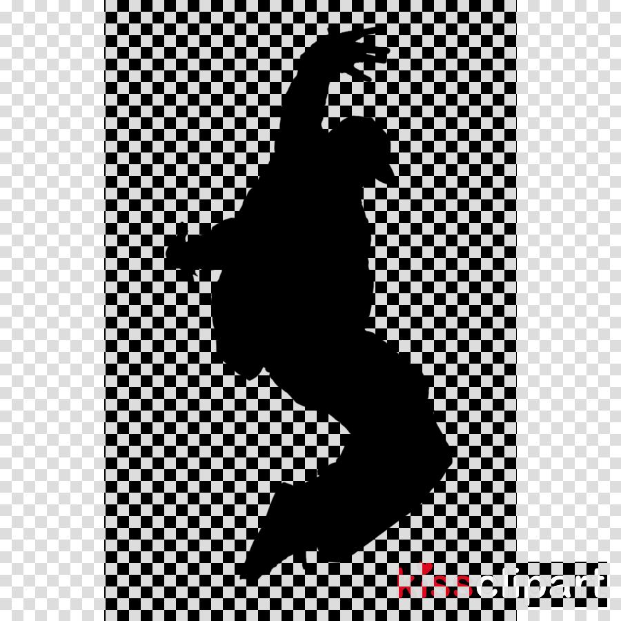 Hip hop dance silhouette clipart picture black and white Street Dance clipart - Dance, Silhouette, transparent clip art picture black and white
