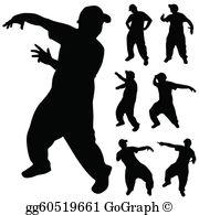 Hip hop dancer clipart clip royalty free download Hip Hop Dance Clip Art - Royalty Free - GoGraph clip royalty free download