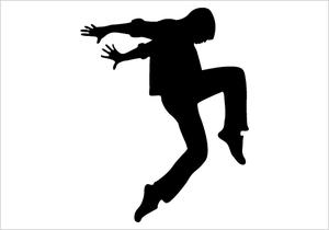 Hip hop dancer clipart graphic transparent stock Clipart Of Hiphop Dancers | Free Images at Clker.com ... graphic transparent stock