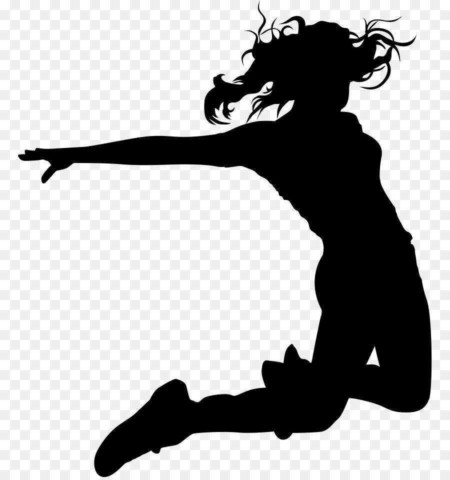Hip hop dancer silhouette clipart jpg library Hip-hop dance Silhouette Drawing - Silhouette png download ... jpg library
