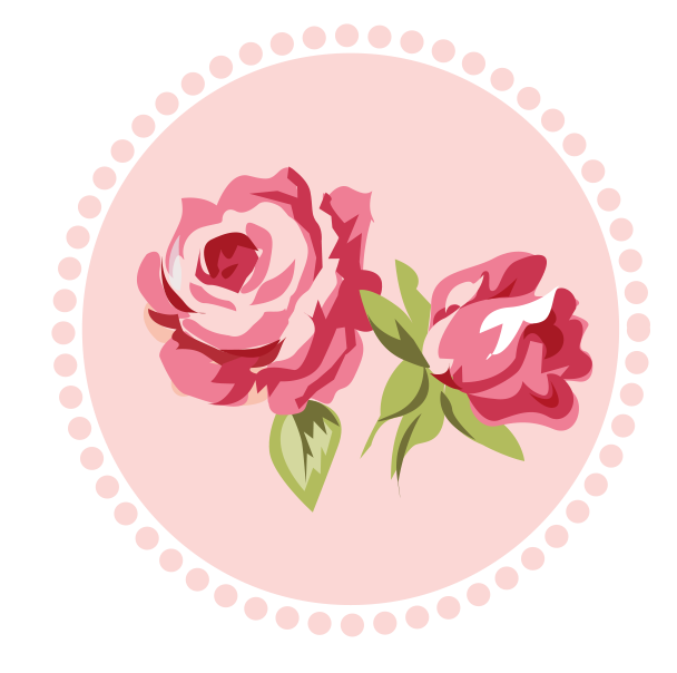 Hippie flower crown clipart clipart transparent library Shabby Chic Pink-Gray - Rose 02.png - Minus | dekopaj (roses ... clipart transparent library