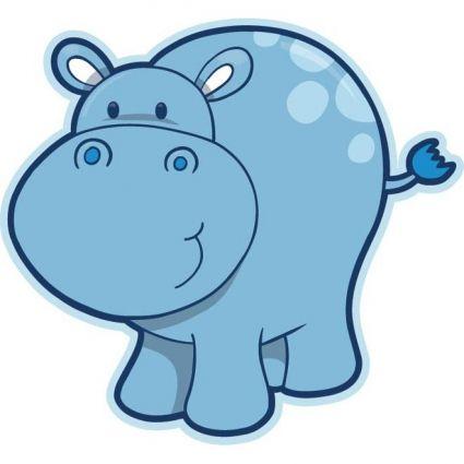 Hippo vector clipart clipart transparent download cute baby hippopotamus vector | cute bebe | Hippo drawing ... clipart transparent download