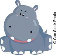 Hippo vector clipart image transparent download Clip Art Hippo | Hippo Vector clipart and illustrations ... image transparent download
