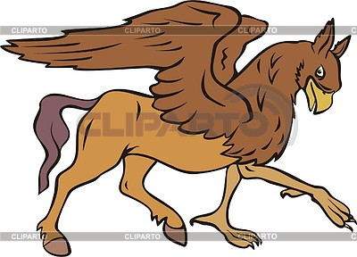 Hippogriff clipart image stock Hippogriff | Stock Vector Graphics | CLIPARTO image stock