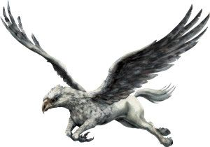 Hippogriff clipart vector free Buckbeak | animals | Hippogriff harry potter, Harry potter ... vector free