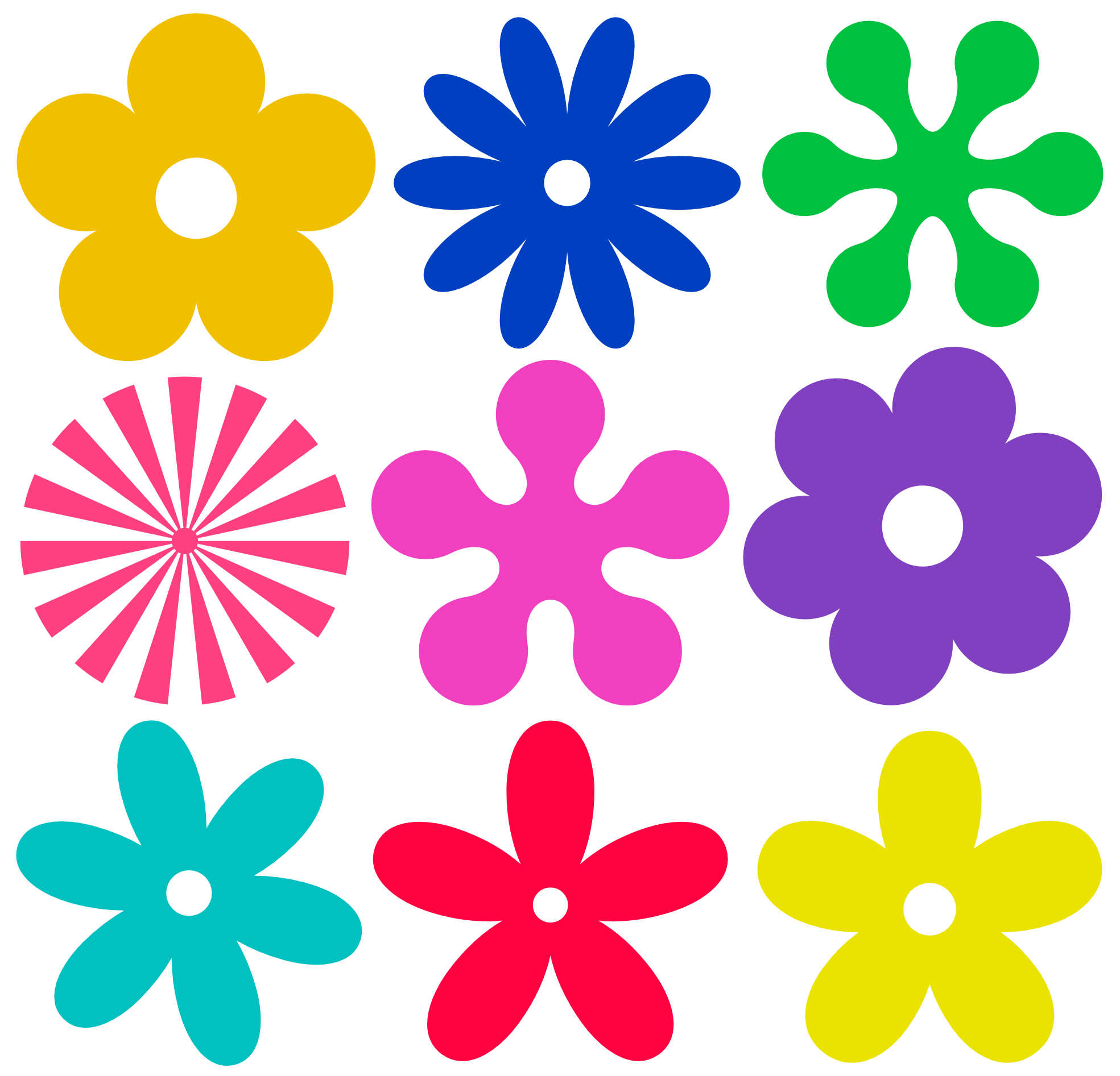 Hippie flower crown clipart picture free Hippie Flowers Clipart - Clipart Kid picture free