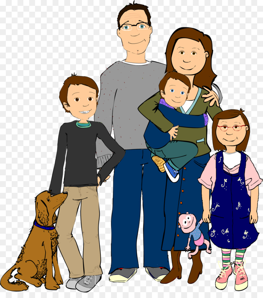 Hispanic family clipart image free download Group Of People Background clipart - Family, Illustration ... image free download