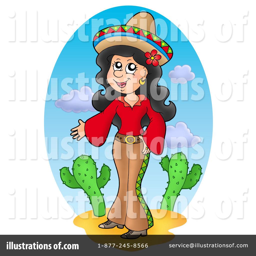 Hispanic woman clipart clipart freeuse download Hispanic Woman Clipart #223508 - Illustration by visekart clipart freeuse download