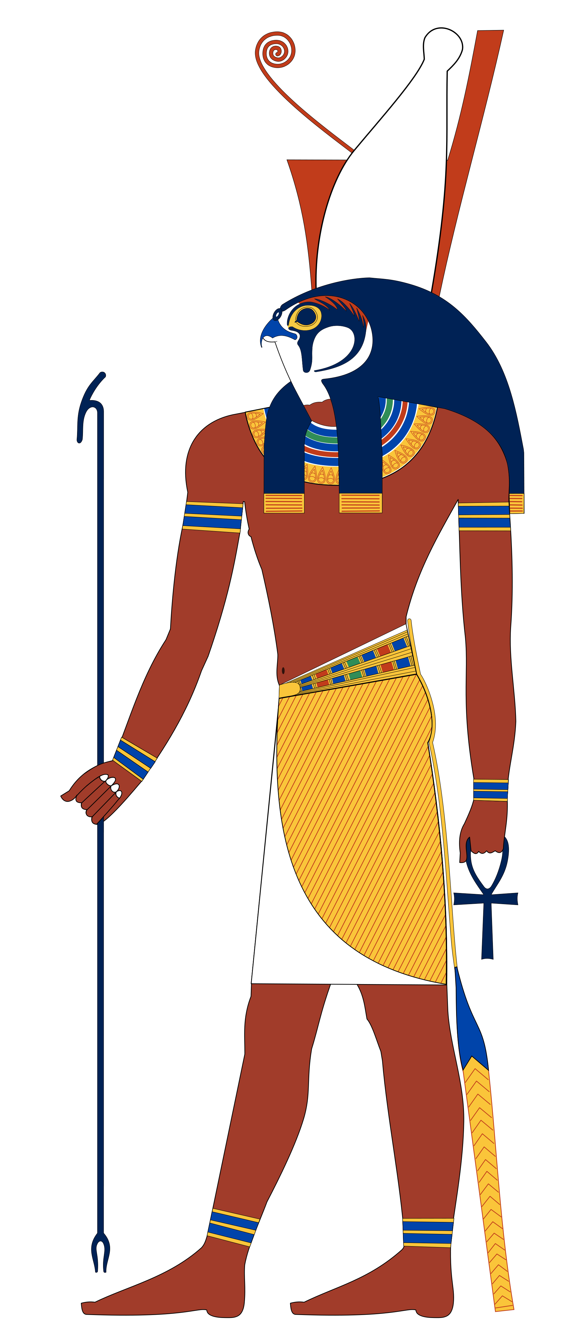 Histoire book clipart jpg royalty free Top 10 Most Famous Ancient Egyptian Gods And Goddesses in The ... jpg royalty free