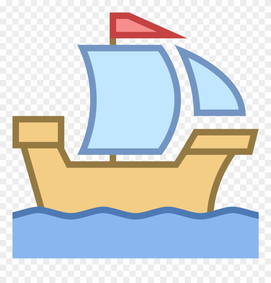 Historic clipart banner freeuse Historic Ship Icon - Sail Clipart (#3974255) - PinClipart banner freeuse
