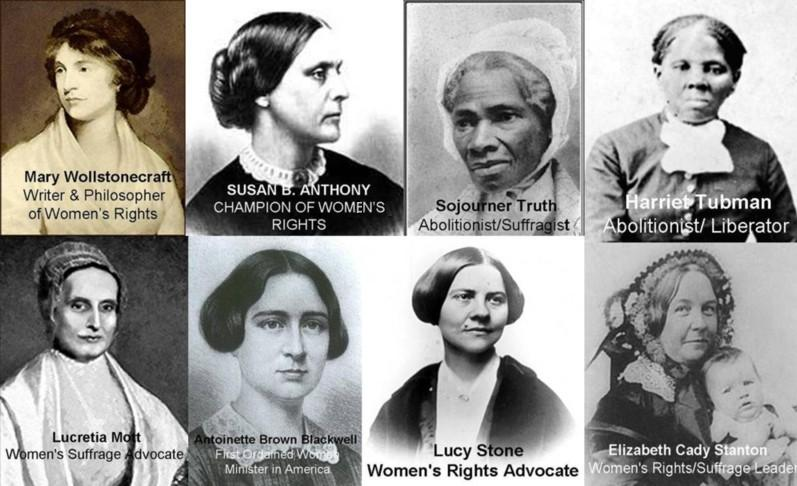 Historical female figures clipart black and white picture royalty free stock Women\'s History Month: Writing Women Back into History picture royalty free stock