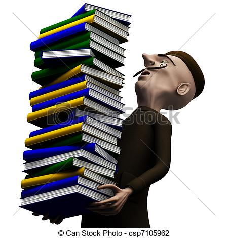 History clip art teachers image freeuse Clip Art of Teacher carryng a pack of history books - School ... image freeuse