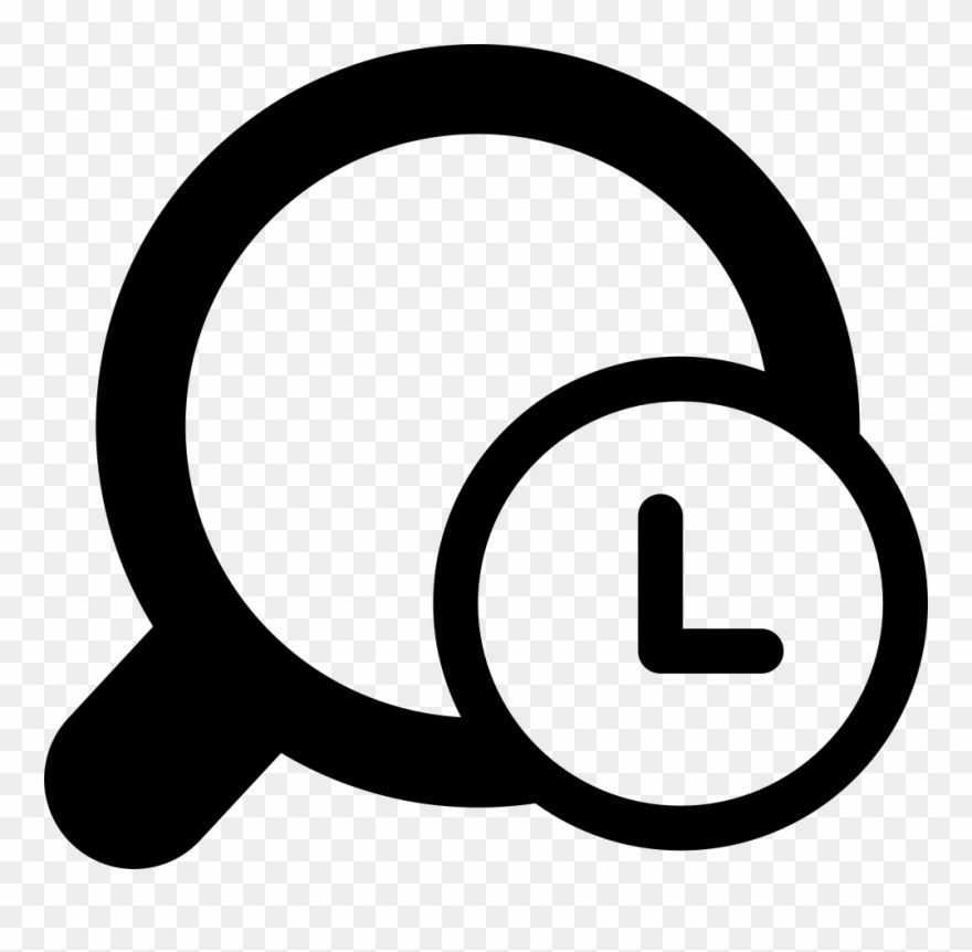 History clipart icon svg black and white download History Icons - Search History Icon Png Clipart (#1565271 ... svg black and white download