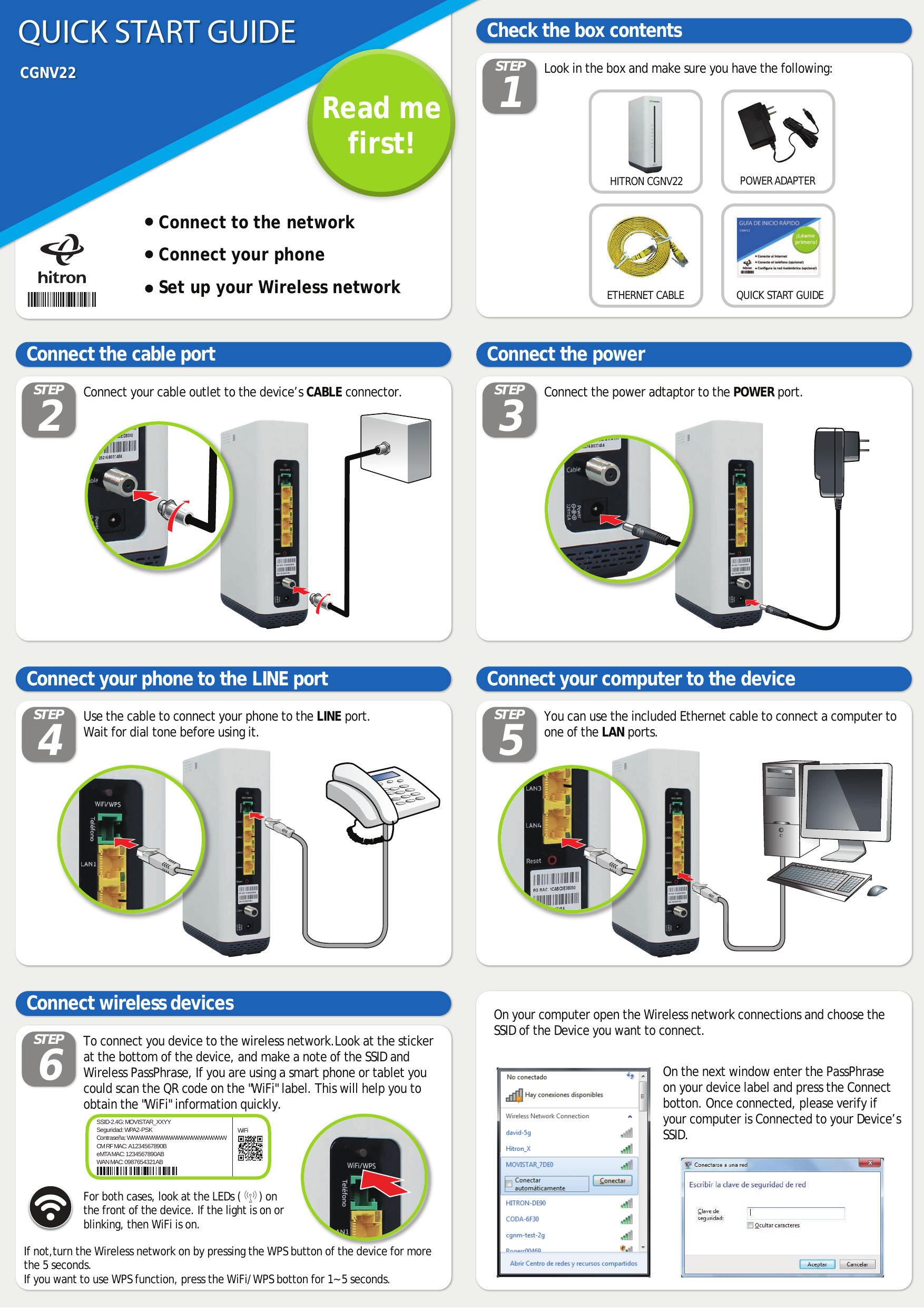 Hitron clipart tv guide svg stock CGNV22 DOCSIS 3.0 eMTA User Manual Hitron Technologies . svg stock