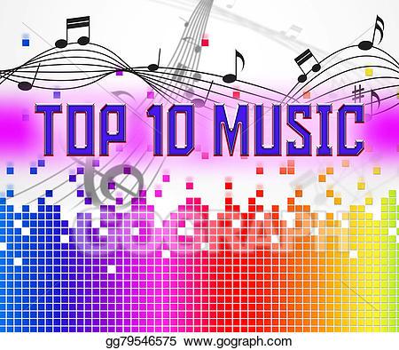 Hits clipart png freeuse download Drawing - Music charts represents hit parade and hits ... png freeuse download