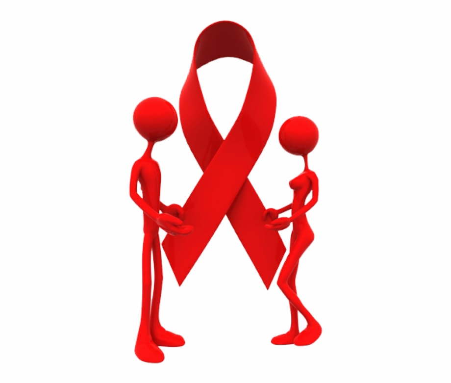 Hiv logo clipart graphic royalty free Hiv Red Ribbon - Hiv Aids Logo Free PNG Images & Clipart ... graphic royalty free