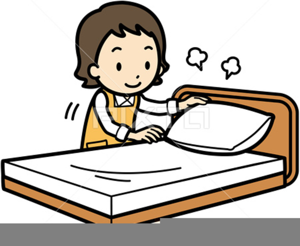Making bed clipart vector freeuse library Clipart Pictures Of Making Bed Free Images At Clker Com ... vector freeuse library